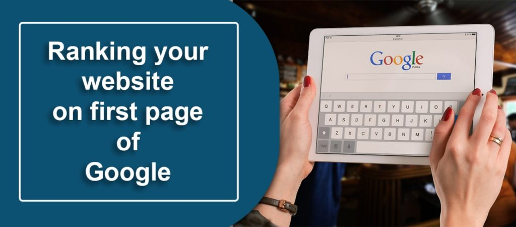 Ranking Your Website On First Page Of Google